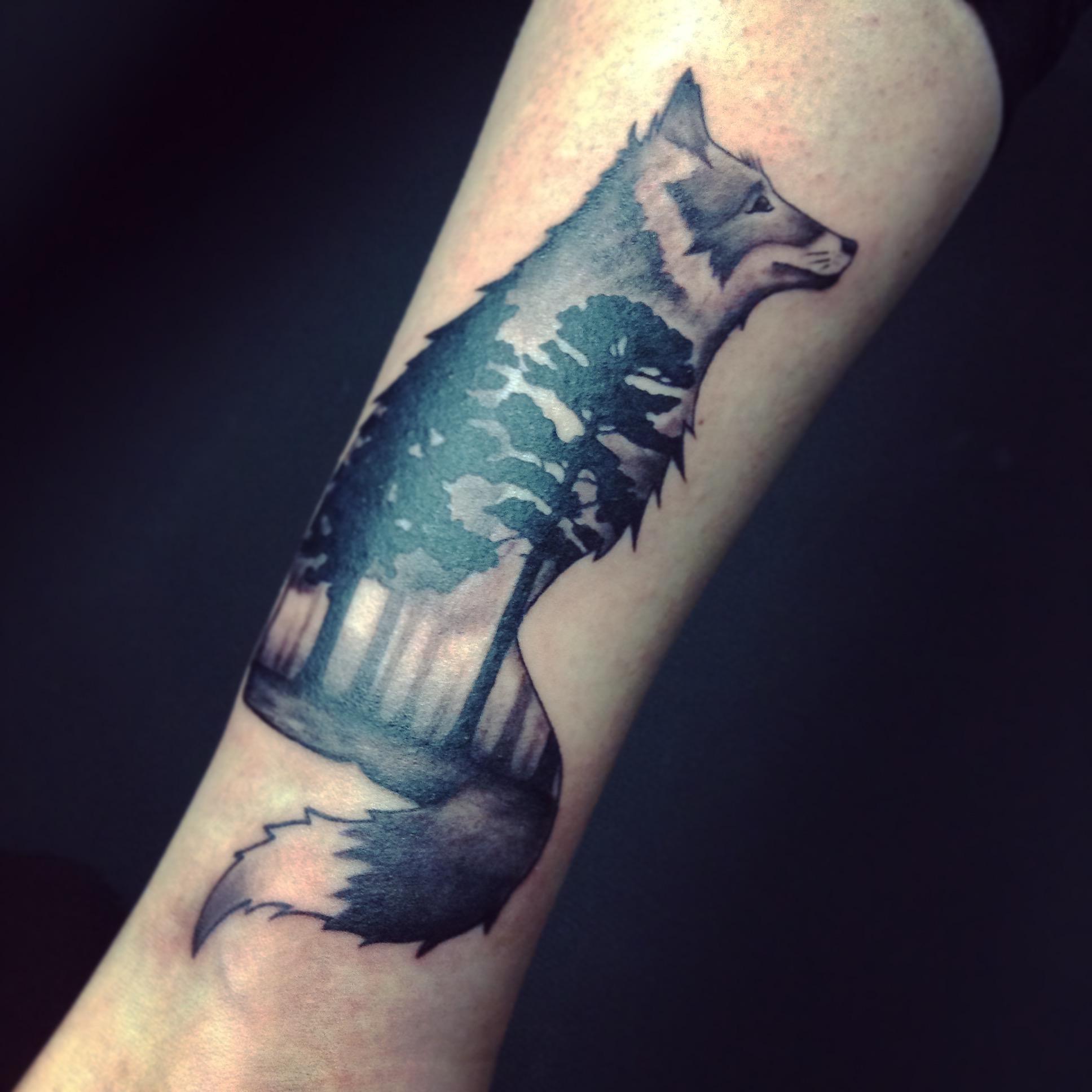 Tattoo Bestiaire Tanuki Tattoo